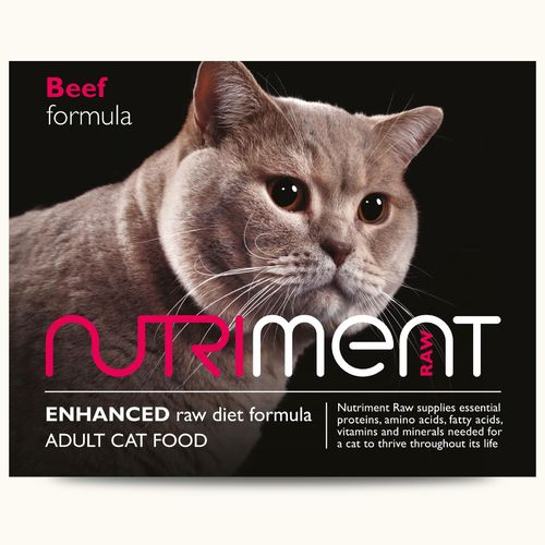 Nutriment Cat Beef Formula 500g *Collection Only*