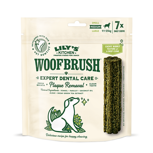 Lily's Kitchen: Woofbrush Dental Chew - Medium (7pk)