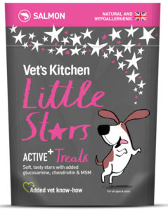 Vet's Kitchen Little Stars - Active+ Dog Treats 85g