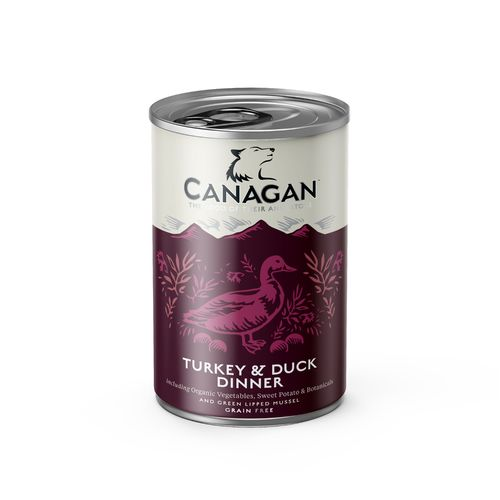 Canagan Dog Can - Turkey & Duck Dinner 400g