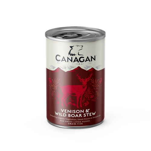 Canagan Dog Can - Venison & Wild Boar Stew 400g
