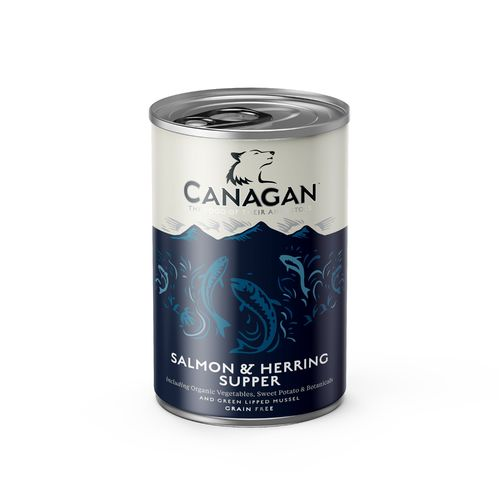 Canagan Dog Can - Salmon & Herring Supper 400g