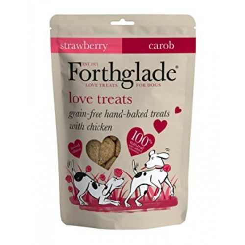Forthglade Love Treats Carob & Strawberry 150g