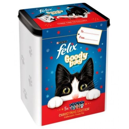 Felix Treats Christmas Tin 300g
