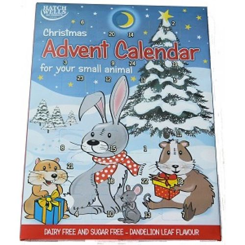 Hatchwells Christmas Advent Calendar for Small Animals