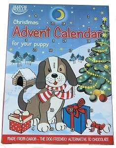 Hatchwells Christmas Advent Calendar for Puppy