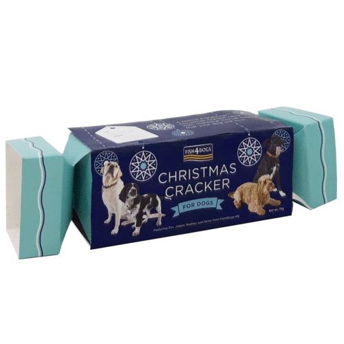 Fish4Dogs Christmas Cracker for Dogs