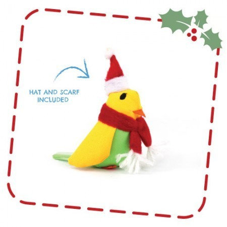 Beco Catnip Christmas Budgie Toy for Cats