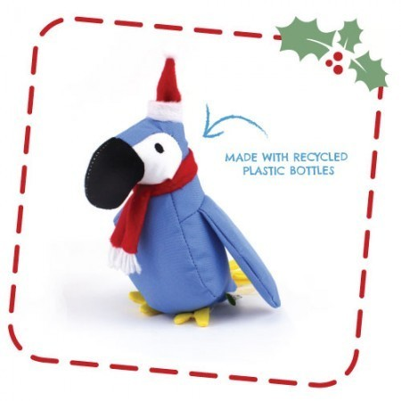 Beco Cuddly Christmas Parrot Soft Toy (Medium)