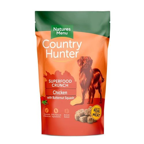 Natures Menu Country Hunter Superfood Crunch - Chicken with Butternut Squash 1.2kg