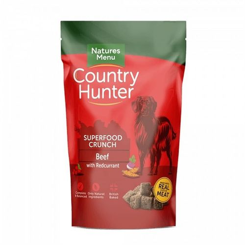 Natures Menu Country Hunter Superfood Crunch - Beef with Redcurrant 1.2kg