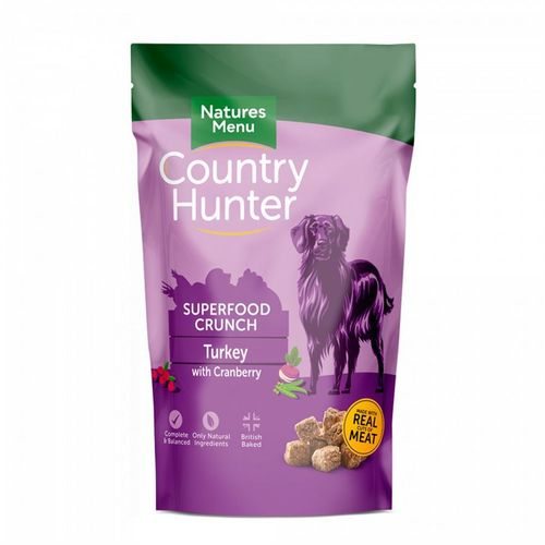 Natures Menu Country Hunter Superfood Crunch - Turkey with Cranberry 1.2kg
