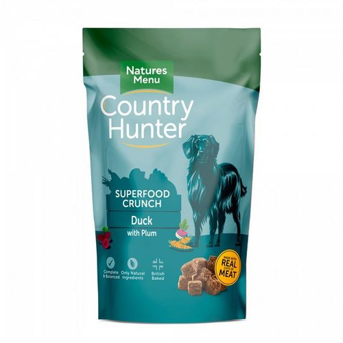 Natures Menu Country Hunter Superfood Crunch - Duck with Plum 1.2kg