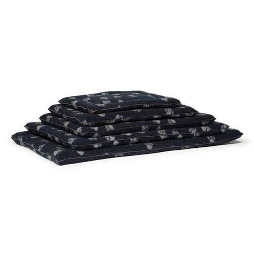 Danish Design - Navy Sherpa Fleece Cage Mattress
