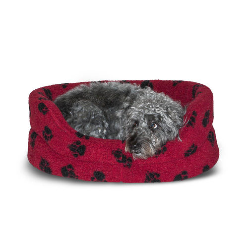 Danish Design - Fleece Paw Slumber Bed