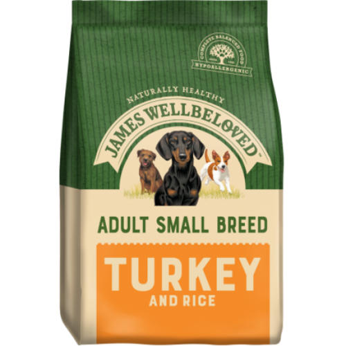James Wellbeloved Adult - Small Breed Turkey Dog Food 1.5kg