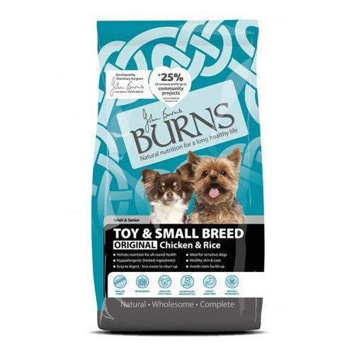 Burns Adult Dog Small/Toy Breed Original Chicken & Rice 2kg